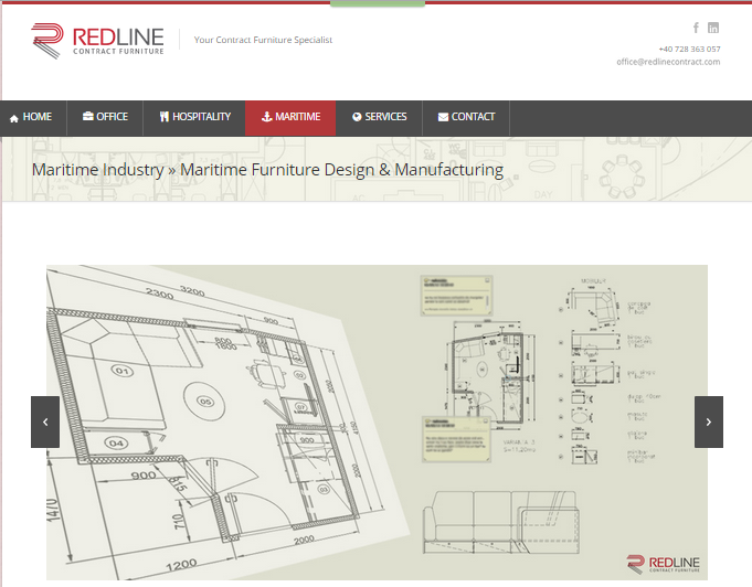 REDLINE Maritime Furniture Design & Manufacturing