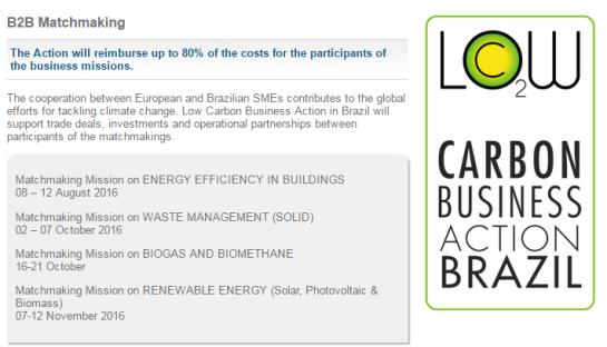 Low carbon B2B