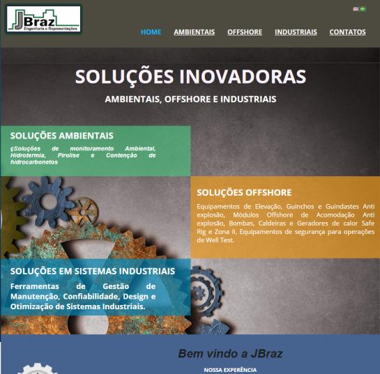 webpage JBraz