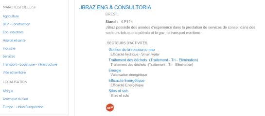 Profile JBraz Pollutec